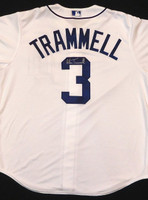 Alan Trammell Autographed Detroit Tigers Jersey
