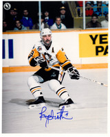 Bryan Trottier Autographed Pittsburgh Penguins 8x10 Photo