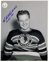 Clint Smith Autographed Chicago Blackhawks 8x10 Photo #4