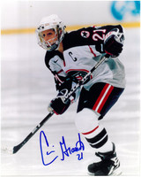 Cammi Granato Autographed USA Hockey 8x10 Photo #2