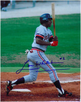Lou Whitaker Autographed Detroit Tigers 8x10 Photo #1