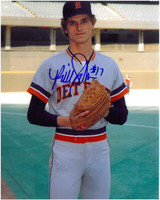Bill Scherrer Autographed Detroit Tigers 8x10 Photo #3