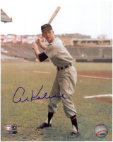 Al Kaline Autographed Detroit Tigers 8x10 Photo - Color Stance
