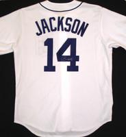 Austin Jackson Autographed Detroit Tigers Home Jersey