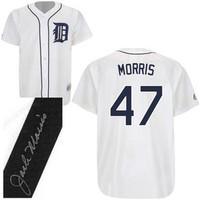 Jack Morris Autographed Detroit Tigers Jersey