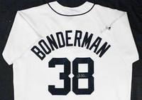 Jeremy Bonderman Autographed Detroit Tigers Jersey