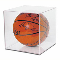 Basketball Cube Display Case by Ballqube