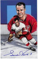 Gordie Howe Autographed Legends of Hockey Card