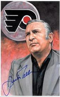 Keith Allen Autographed Legends of Hockey Card