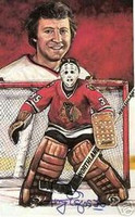 Tony Esposito Autographed Legends of Hockey Card