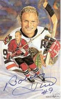 Bobby Hull Autographed Legends of Hockey Card