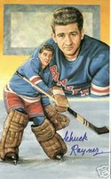 Chuck Rayner Autographed Legends of Hockey Card