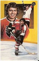 Bobby Clarke Legends of Hockey Card #16