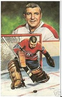 "Lorne ""Gump"" Worsley Legends of Hockey Card #30"