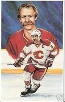 Lanny McDonald Legends of Hockey Card #34