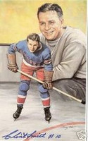 Clint Smith Autographed Legends of Hockey Card