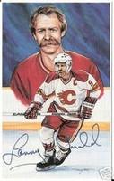 Lanny McDonald Autographed Legends of Hockey Card