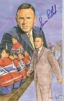 Sam Pollock Autographed Legends of Hockey Card