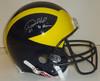 Desmond Howard Autographed Michigan Helmet Heisman