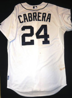 Miguel Cabrera Game Used Jersey