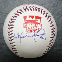 Victor Martinez Autographed Baseball - Official 2014 All Star Ball