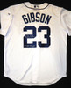 Kirk Gibson Autographed Detroit Tigers Home Jersey
