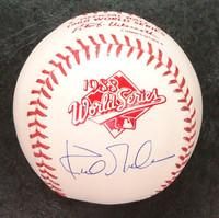 Kirk Gibson 1988 World Series Baseball