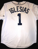 Jose Iglesias Autographed Jersey