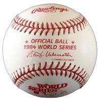 Alan Trammell Autographed Baseball - 1984 World Series Ball inscribed MVP or HOF (Pre-Order)