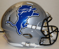 Golden Tate Autographed Detroit Lions Speed Helmet