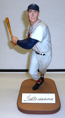 Ted Williams Autographed Gartlan Figurine