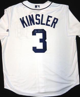 Ian Kinsler Autographed Jersey