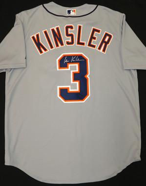 Ian Kinsler Autographed Road Jersey