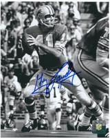 Greg Landry Autographed Detroit Lions 8x10 Photo #1