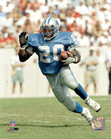 Barry Sanders Autographed 8x10 Photo #2 - Blue Jersey Action (Pre-Order)