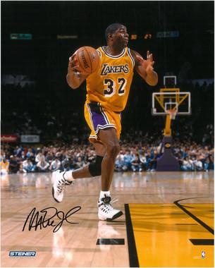 Magic Johnson Autographed Photo