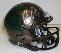 Connor Cook Autographed MSU Spartans Speed Bronze Mini Helmet