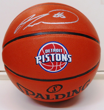 Andre Drummond Autographed Basketball