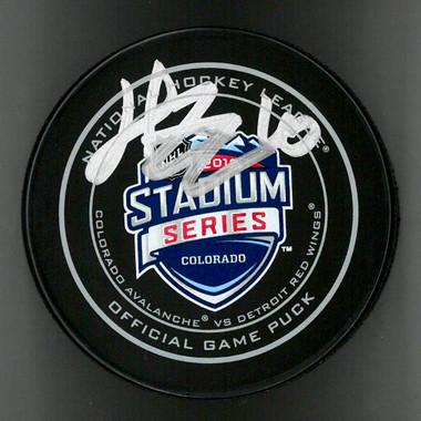 Henrik Zetterberg Autographed Hockey Puck