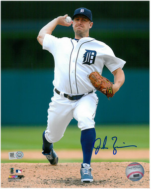 Jordan Zimmermann Autographed Photo