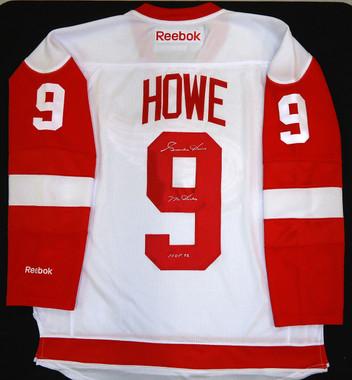 Gordie Howe Autographed Detroit Red Wings Jersey