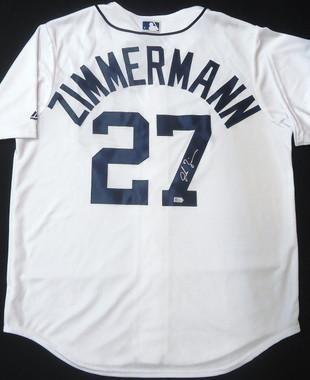 Jordan Zimmermann Autographed Jersey