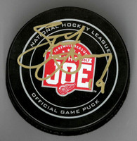 Steve Yzerman Autographed Farewell to the Joe Official Game Puck