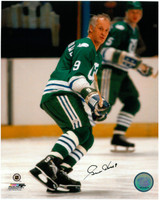 Gordie Howe Autographed Hartford Whalers 8x10 Photo #12 - Action