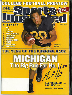 Mike Hart Autographed Sports Illustrated