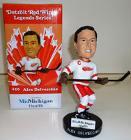 Alex Delvecchio Detroit Red Wings SGA Bobblehead