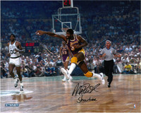 "Magic Johnson Autographed LA Lakers 16x20 Photo #6 - ""Showtime"""