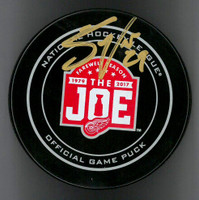 Steve Ott Autographed Farewell to the Joe Official Game Puck