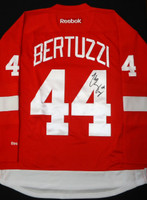 Todd Bertuzzi Autographed Detroit Red Wings Home Jersey