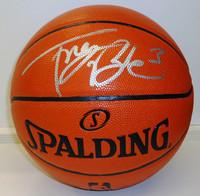 Trey Burke Autographed Basketball - Spalding I/O